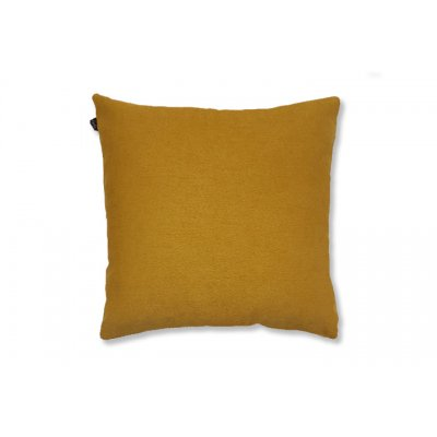 Daisy kussen gevuld geel (45x45)