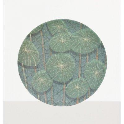 Nymphaea plate bamboo multi