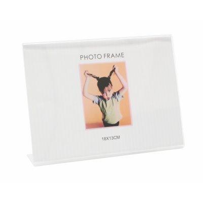 Plexi fotokader met voet (13x18)