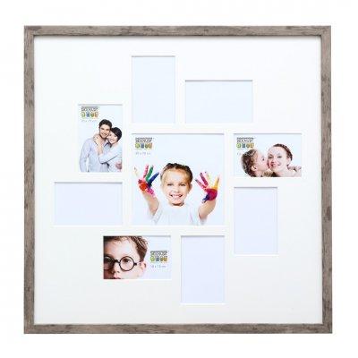 Fotokader grijsbeige (60x60)