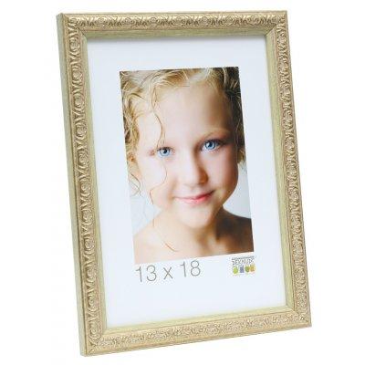 Fotokader goud kunststof 13x18