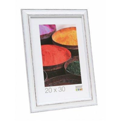 Fotokader wit/bruin 20x30