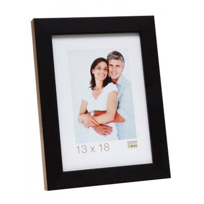 Kader hout zwart/hout zijde 10x15
