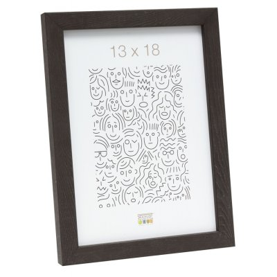 Fotokader donkerbruin 15x20