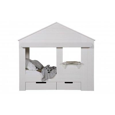 Bed wit (huisie) - 90x200