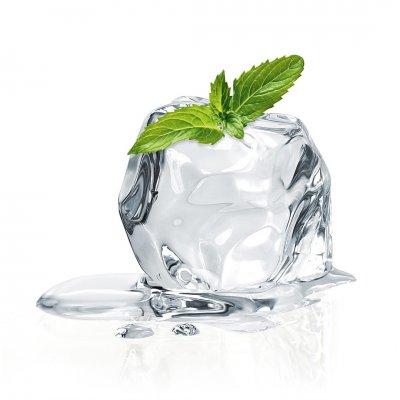 Glaskader munt en ijs (20x20)