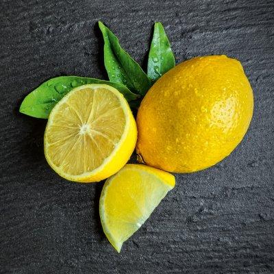 Glaskader citroen (20x20)