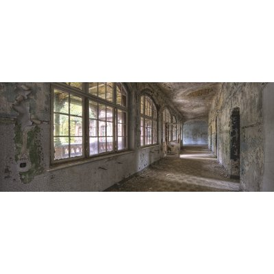 Glaskader oude gang (50x125)