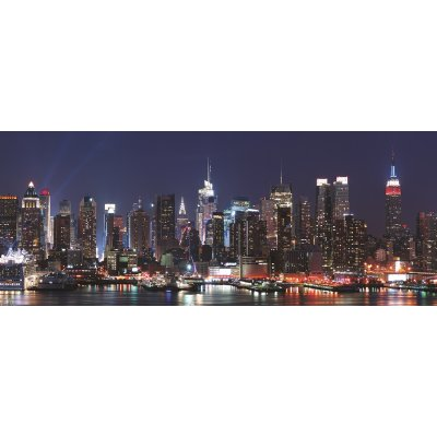 Glaskader new york skyline (50x125)