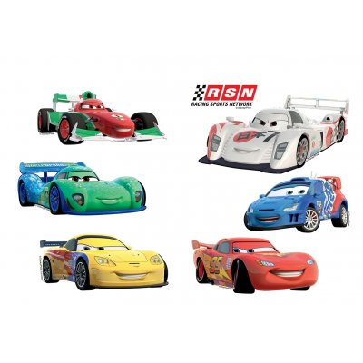Muurstickers cars (25x35)