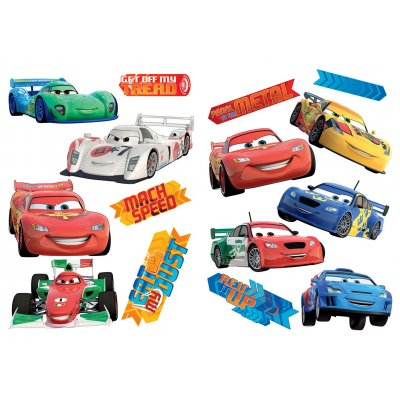 Muurstickers cars (50x70)