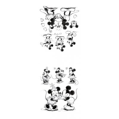 Muurstickers micky mouse (50x70)