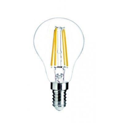 E14 led bollamp helder 4w 2700k warm wit