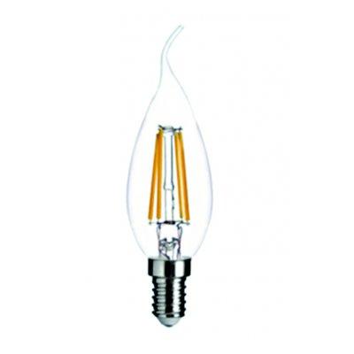 E14 led kaars 4w 2700k warm wit