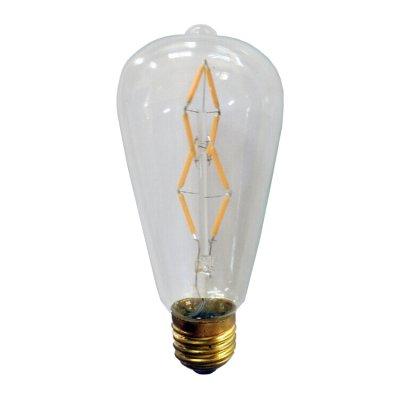E27 led decorlamp 4w 2500k warm wit