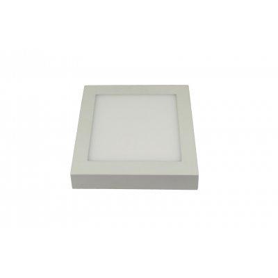 Fluke vierkant plafondlamp  wit incl 18w led 3422112