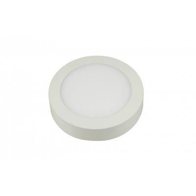 Fluke rond plafondlamp wit incl 18w led