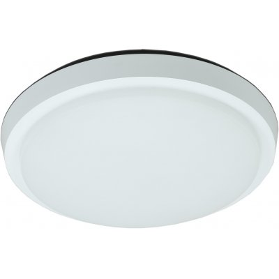 Kalis rond plafondlamp  wit incl 20w smd led