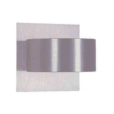 Wandlamp nic-nac-1 aluminium (incl. led)