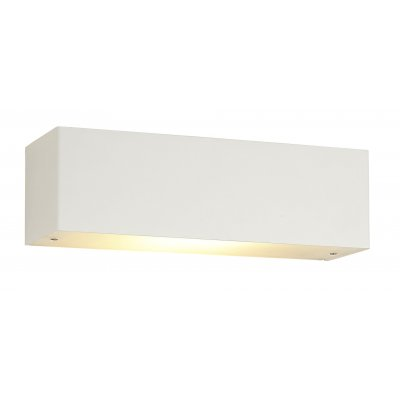 Wandlamp fluo-24,5cm wit (incl. led)