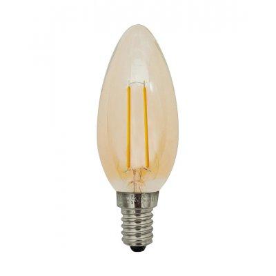 Kaarslamp goud led