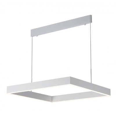 Hanglamp pure vierkant wit (incl. led)