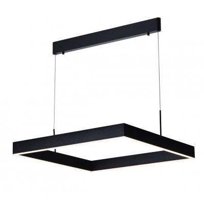 Hanglamp pure vierkant zwart (incl. led)