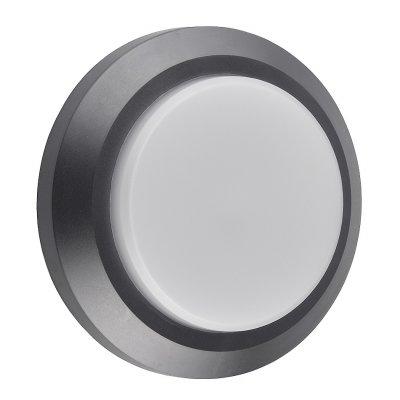 Wandlicht rond grijs