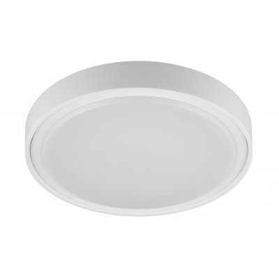 Plafondlamp qijo-36cm rond wit (incl. led)