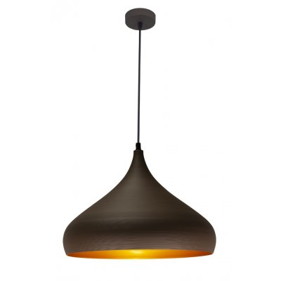 Pendel ronin bruin/goud rond 42cm