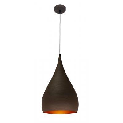 Hanglamp ronin-25cm bruin/goud (excl. lamp)