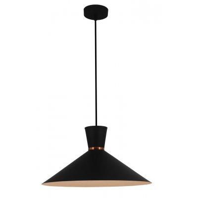 Hanglamp kono-39cm zwart/wit (excl. lamp)