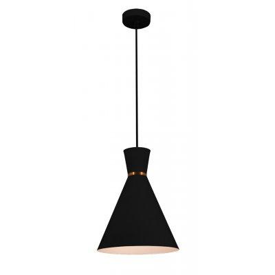 Hanglamp kono-25 zwart/wit (excl. lamp)