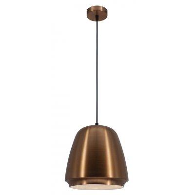 Hanglamp boban koper/wit (excl. lamp)