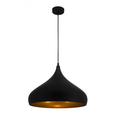 Hanglamp ronin-42cm zwart/goud (excl. lamp)