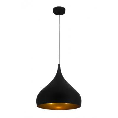 Hanglamp ronin-32cm zwart/goud (excl. lamp)