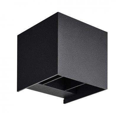 Wandlamp nuala zwart (incl. led) 3434005