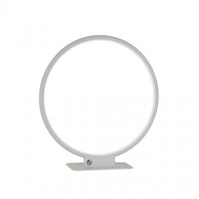 Annu tafellamp rond 40cm wit dimbaar