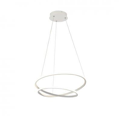 Hanglamp boa-52cm wit (incl. led) 3435032