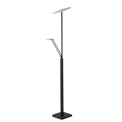 Staanlamp xilion zwart (incl. led)