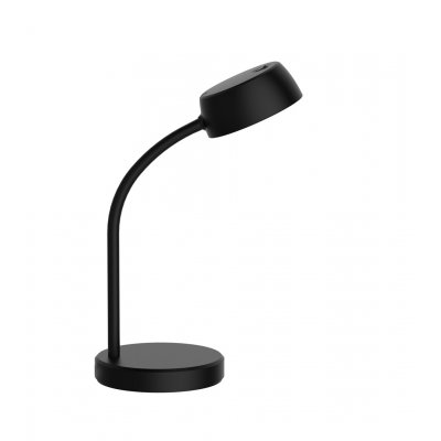 Bureaulamp tosh mat zwart incl led