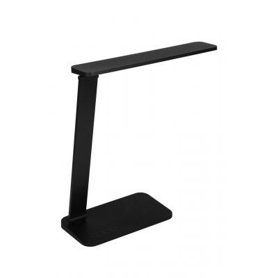 Bureaulamp quonos mat zwart incl. led