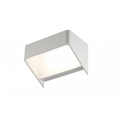 Wandlamp mat wit led