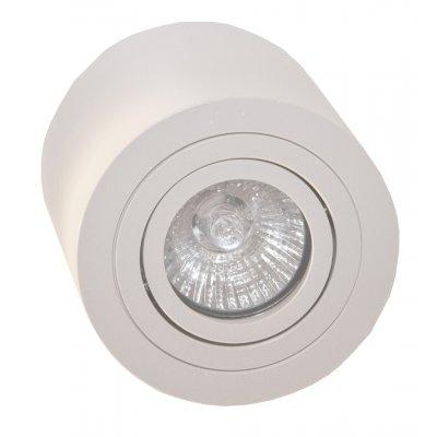 Plafondlamp olala rond wit (excl. lamp)