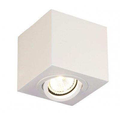 Olala plafondlamp  spot vierk. sandy wit excl gu10 max 50w