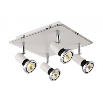 Plafondlamp xzibit-4 wit (incl. led)