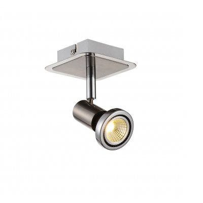 Plafondlamp xzibit-1 satin (incl. led)