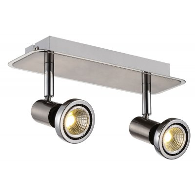 Plafondlamp xzibit-2 satin (incl. led)