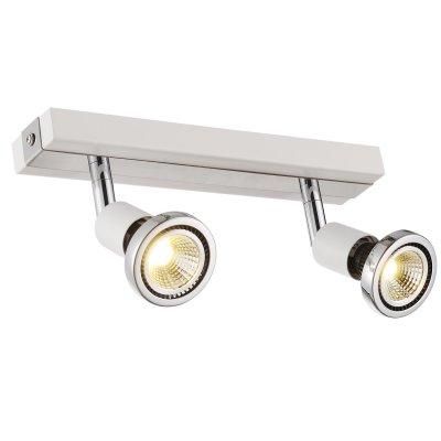 Plafondlamp robus-2 wit (incl. led)