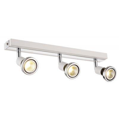 Plafondlamp robus-3 wit (incl. led)
